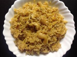 तयार नारळी भात