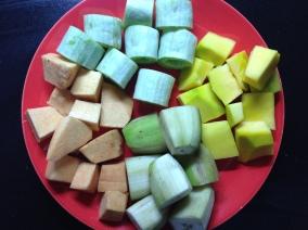 कंदमुळासाठी लागणा-या भाज्या