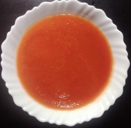 टोमॅटोचा रस काढा