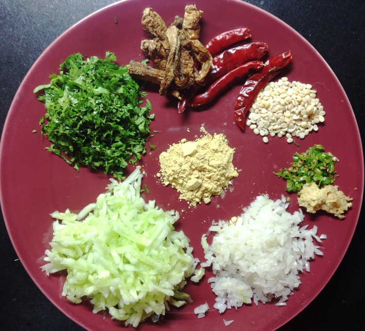 दही भाताची तयारी