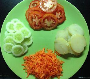 सँडविचच्या भाज्या