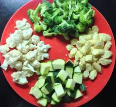 स्टर फ्रायसाठीच्या भाज्या